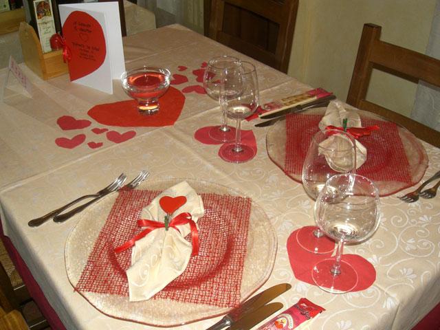 Trattoria da gisa san valentino - Decorazioni tavola san valentino ...